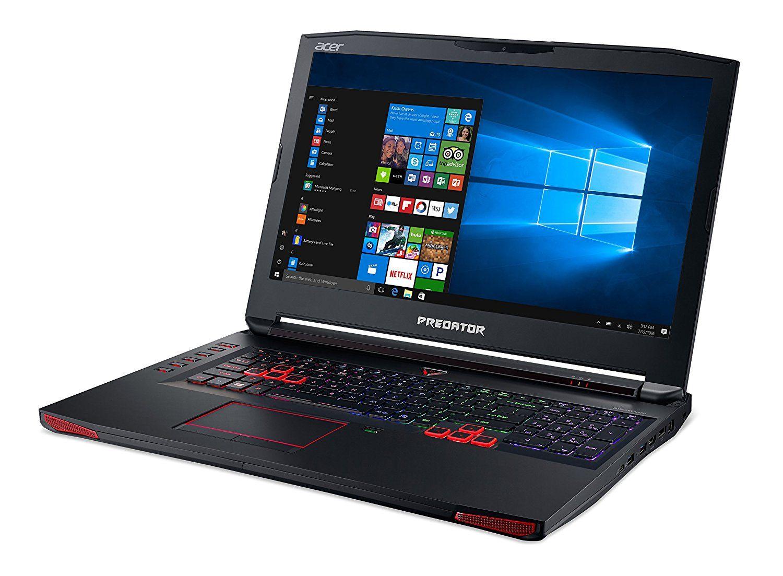 Acer Predator 17 Gaming Laptop Core I7 Geforce Gtx 1070 17 3 Full Hd G Sync 16gb Ddr4 256gb Ssd 1tb Hdd G9 793 Best Gaming Laptop Gaming Laptops G Sync