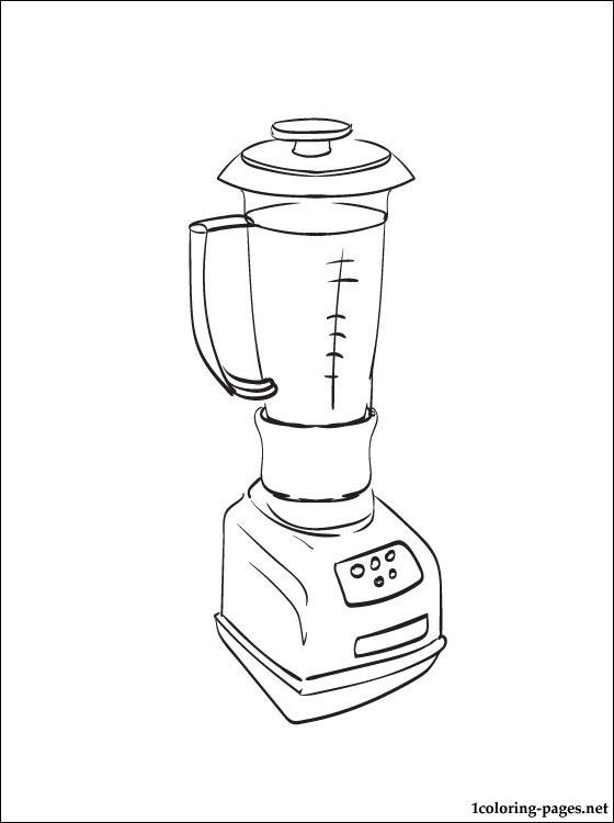 Coloring book with a blender for free for those who want to know