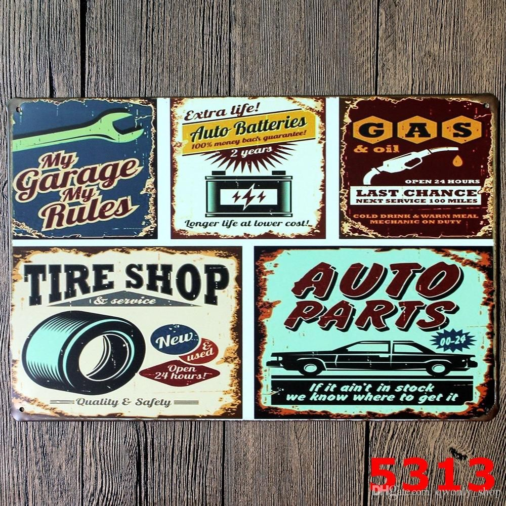 Metal Decorative Signs Cool 2017 20*30Cm Beer Coffee Tavern Vintage Metal Sign Tin Poster Pub Design Decoration