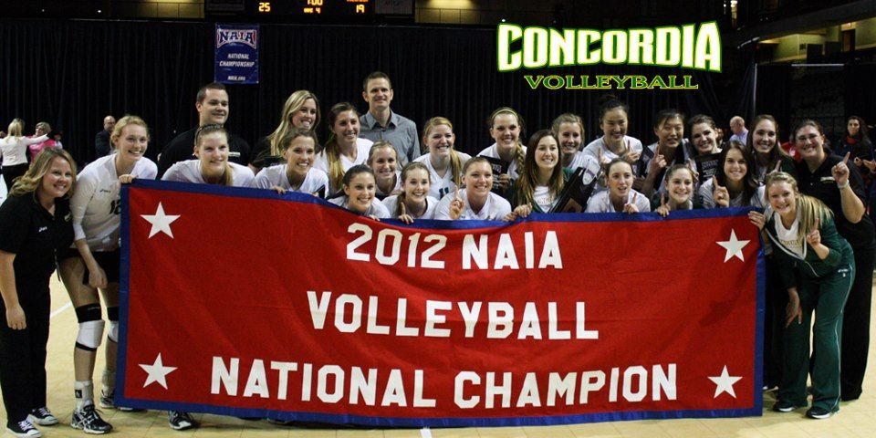 Concordia University Irvine Volleyball Concordia National Champions Concordia University