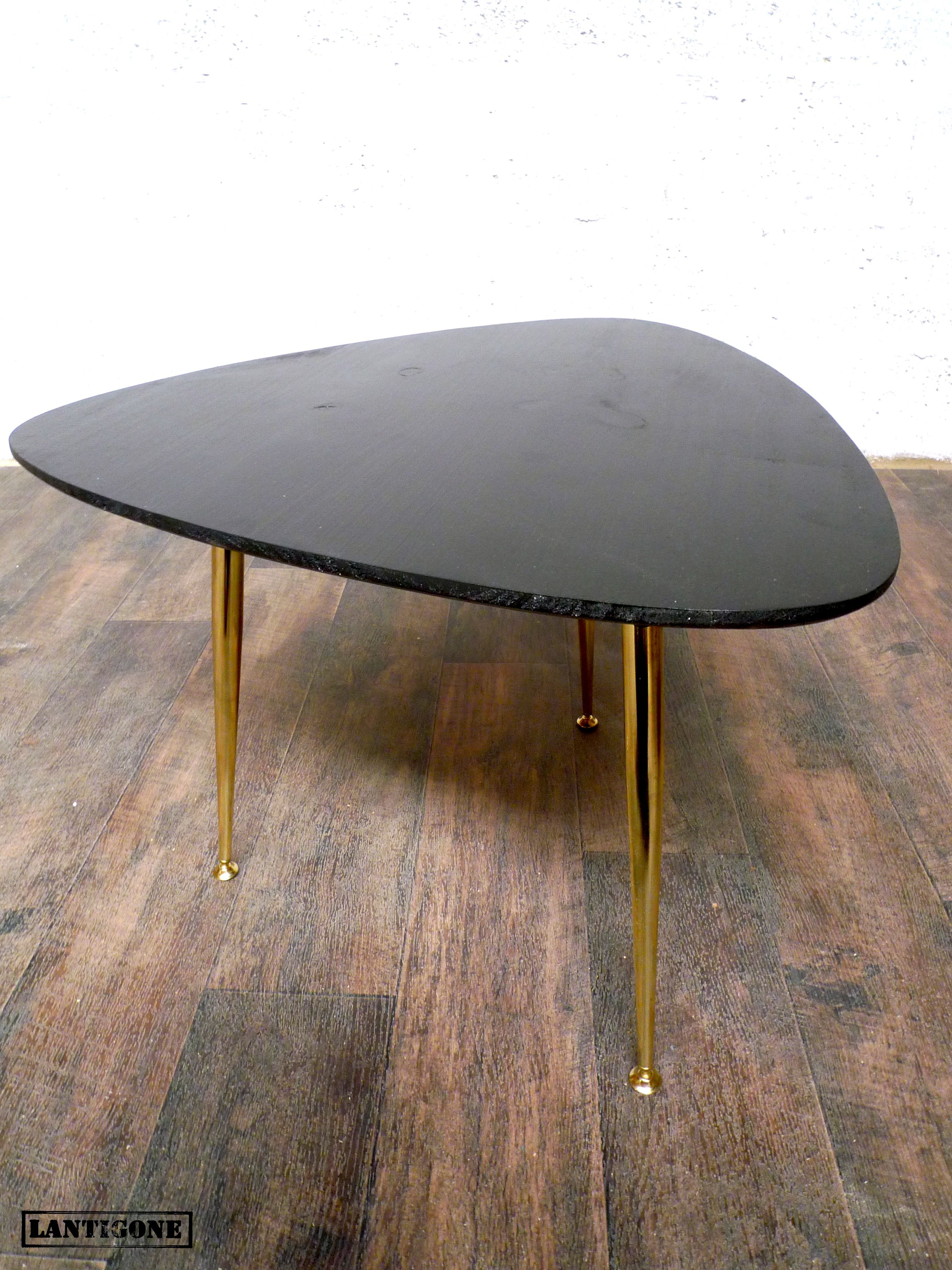 table basse tripode #vintage   tripod vintage table   Pinterest ...