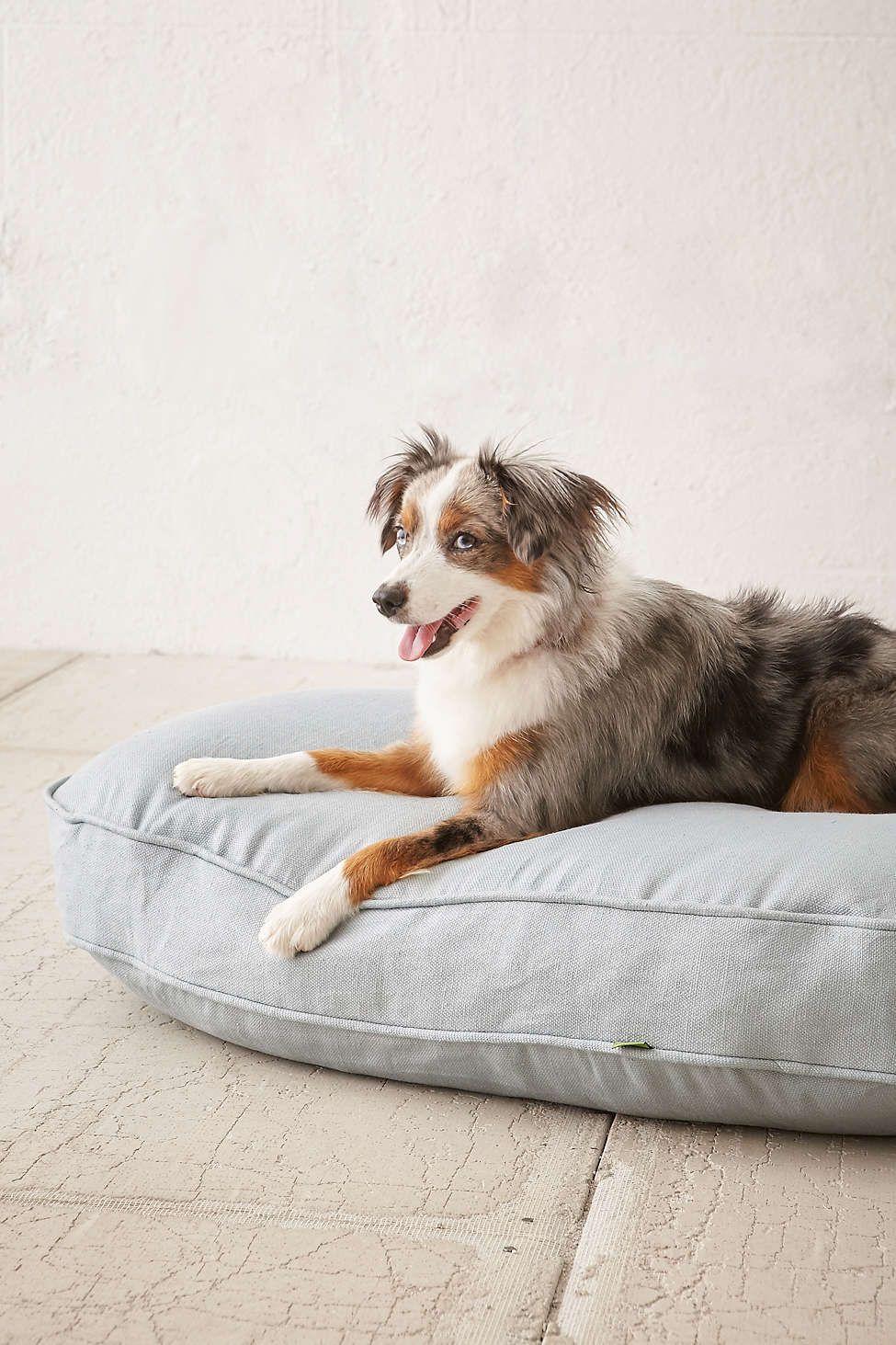 Tufted Corduroy Floor Pillow Dogs, Aussie dogs, Dog milk