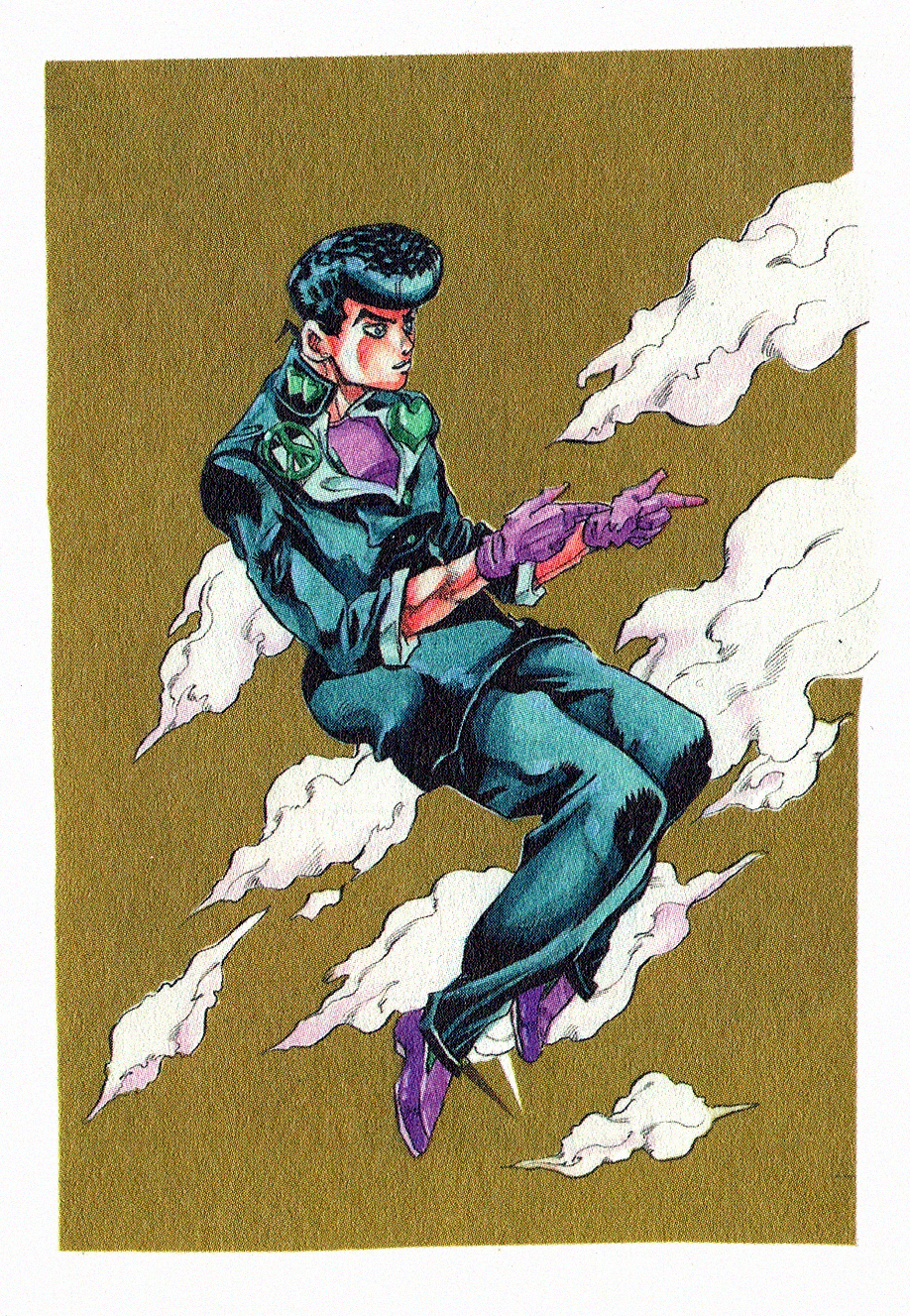 Josuke Higashikata Jojo Anime Jojo S Bizarre Adventure Characters Jojo Bizzare Adventure