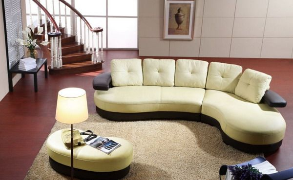 High Quality Modern Curved Sectional Living Room Ideas Pinterest Living