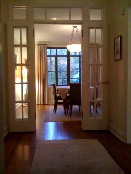 French Doors To Formal Dining Room
