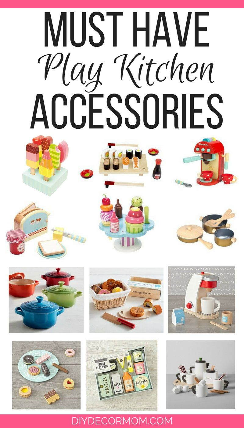 Wooden Play Food The Cutest Accessories Kids Kitchen