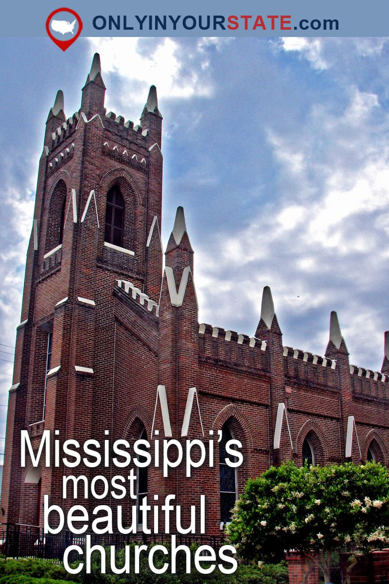 These 16 Churches In Mississippi Will Leave