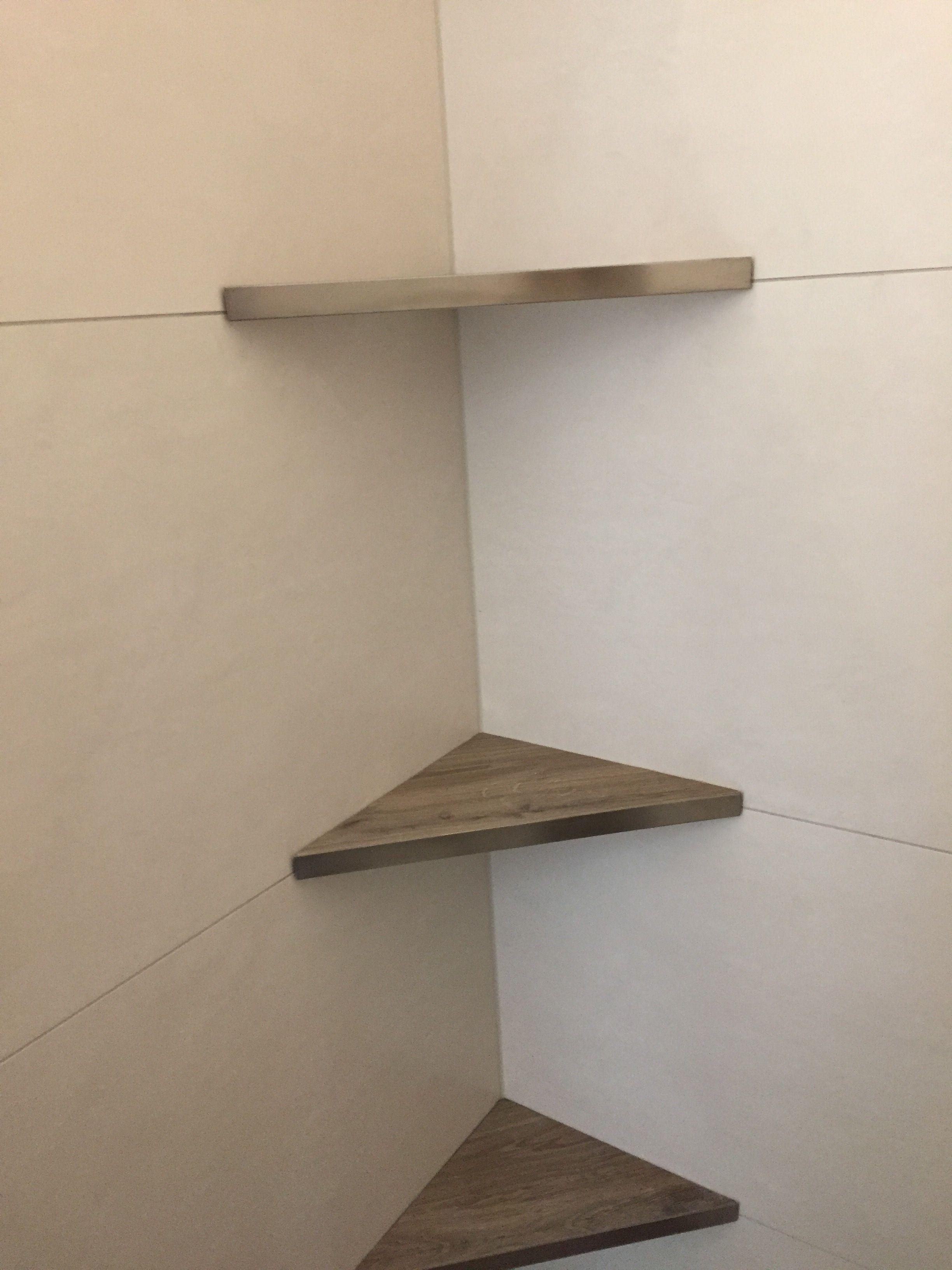 Eckablage In Der Dusche Aus Fliesen Duschregale Badezimmer
