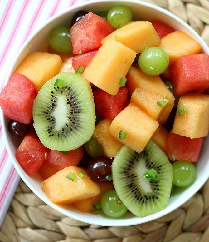 Fruit Salad Medley #fruitsalad