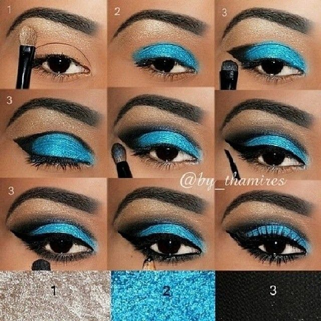 Step by step eye makeup PICS. My collection Eye makeup