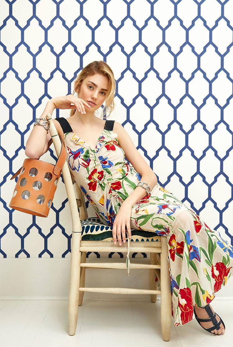 64fca9b348 Tory Burch Clarissa Dress | Spring/Summer 2018 | Tory burch, Fashion ...
