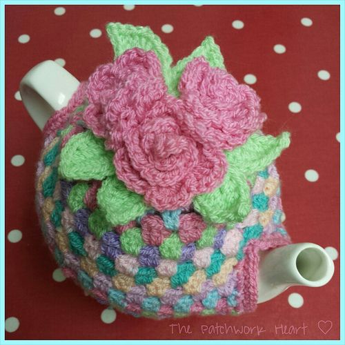 Tea Cosy by The Patchwork Heart, via Flickr | Teacosies | Pinterest