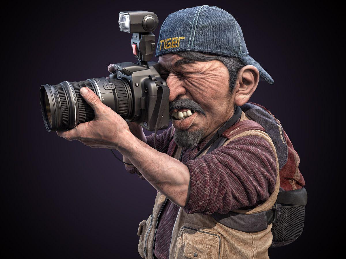 Смешная картинка про фотографа