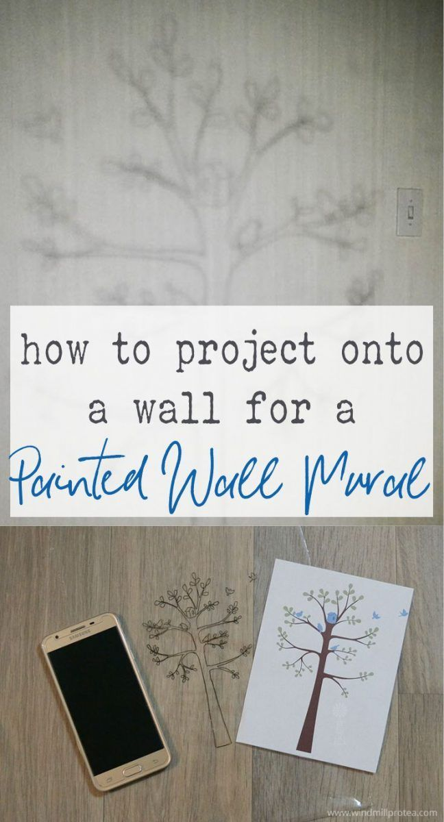 How to Paint a Wall Mural for a Cheerful Bedroom | Windmill & Protea