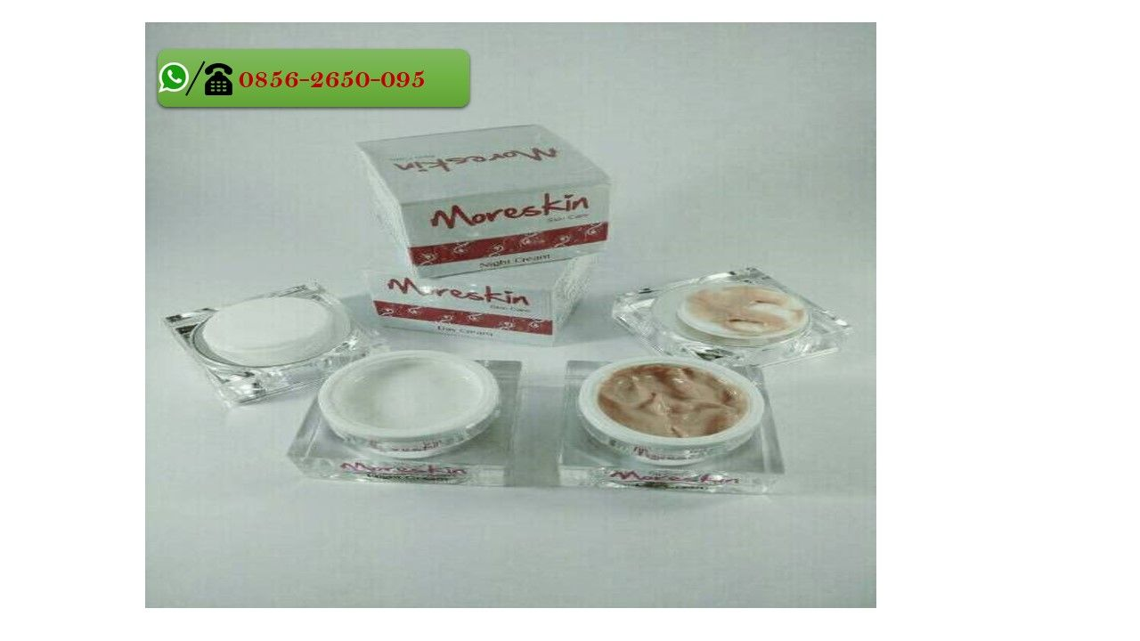 MORESKIN Day Cream merupakan salah satu produk krim dalam ...