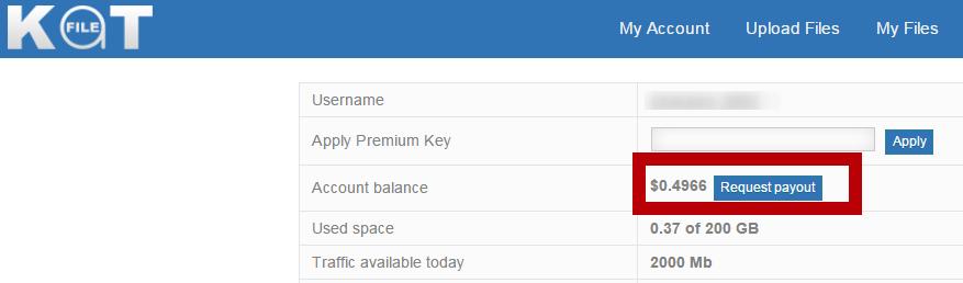 Katfile Premium Key