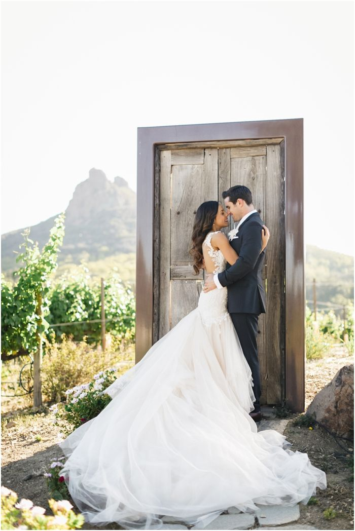 Anna & Derek Saddle Rock Ranch Malibu Ca Wedding | Rückenfrei, Tüll ...