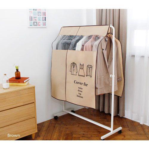 Uit Clothes Suit Garment Storage Bags Dust Proof Cover Diy