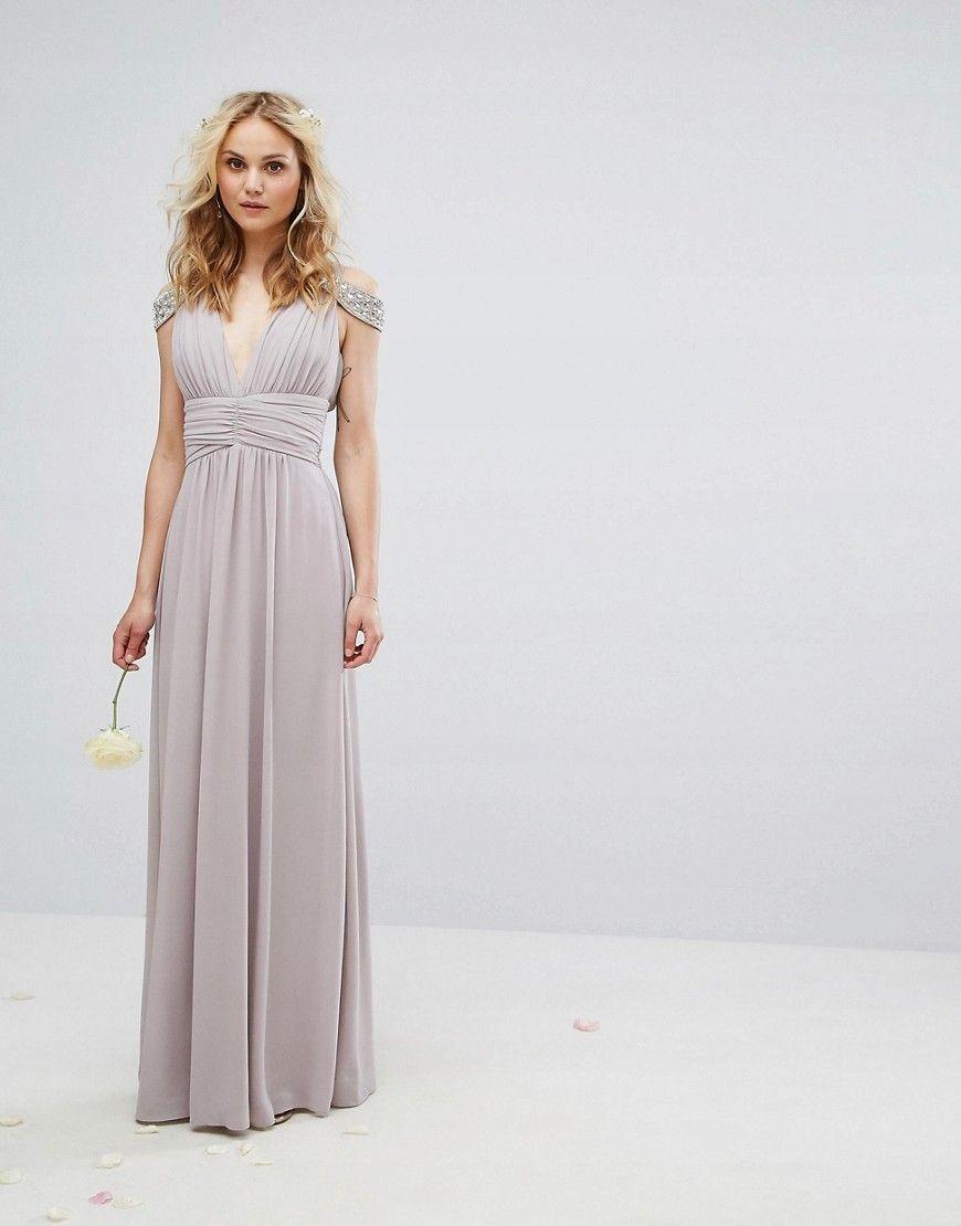 I8e404 Tfnc Wedding Sukienka Maxi Wesele 36 S O02 7452246131 Oficjalne Archiwum Allegro Maxi Dress Wedding Tfnc Wedding Asos Bridesmaid Dress