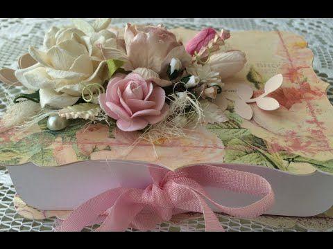 Gift bracket box using Wild Orchid Crafts!