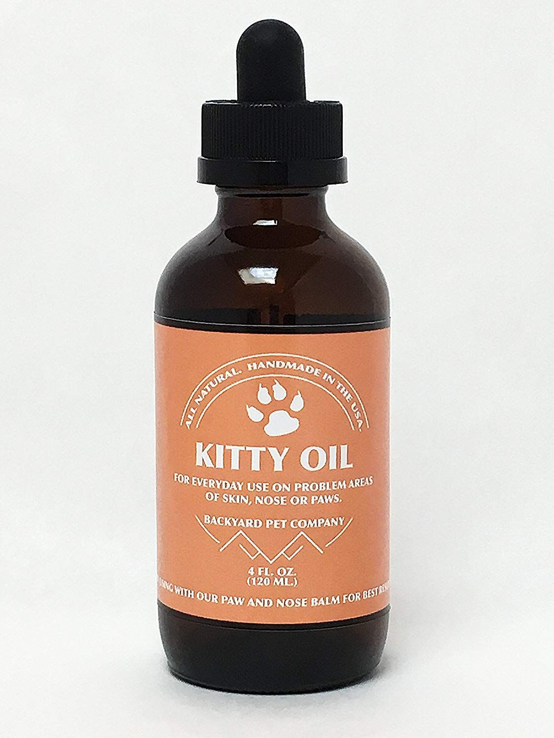 All Natural Kitty Oil For Soothing, Protection and