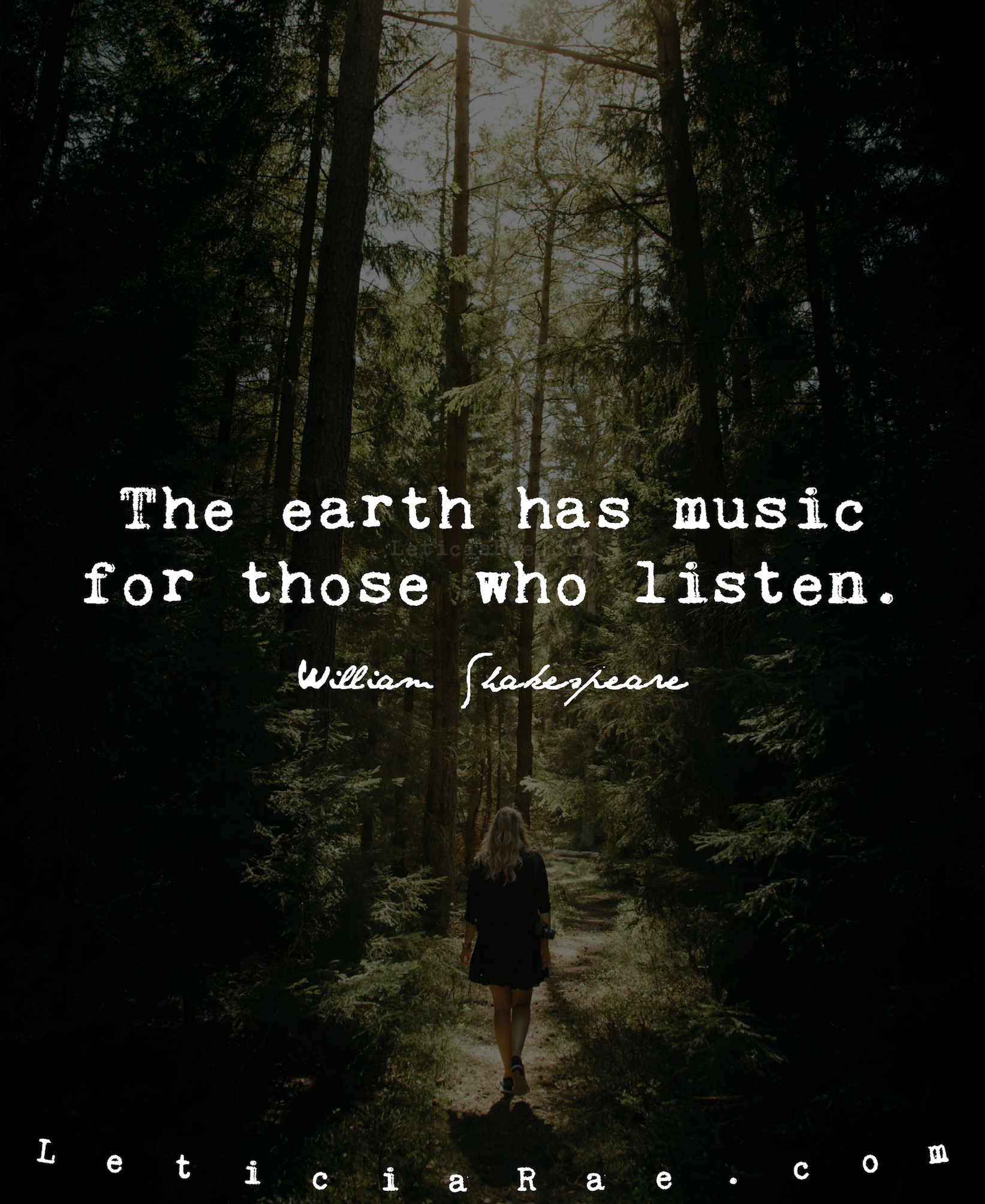 The Earth Has Music For Those Who Listen Quotes Nature