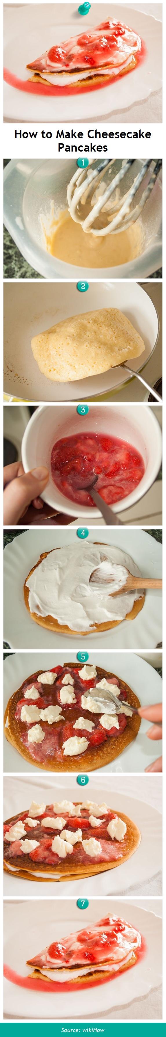 Make cheesecake pancakes cheesecake pancakes pancakes and cheesecakes pancakes easy ccuart Gallery