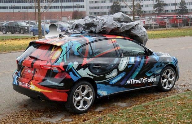 Ford Focus De Nova Geracao E Antecipado Em Imagem Ford Focus
