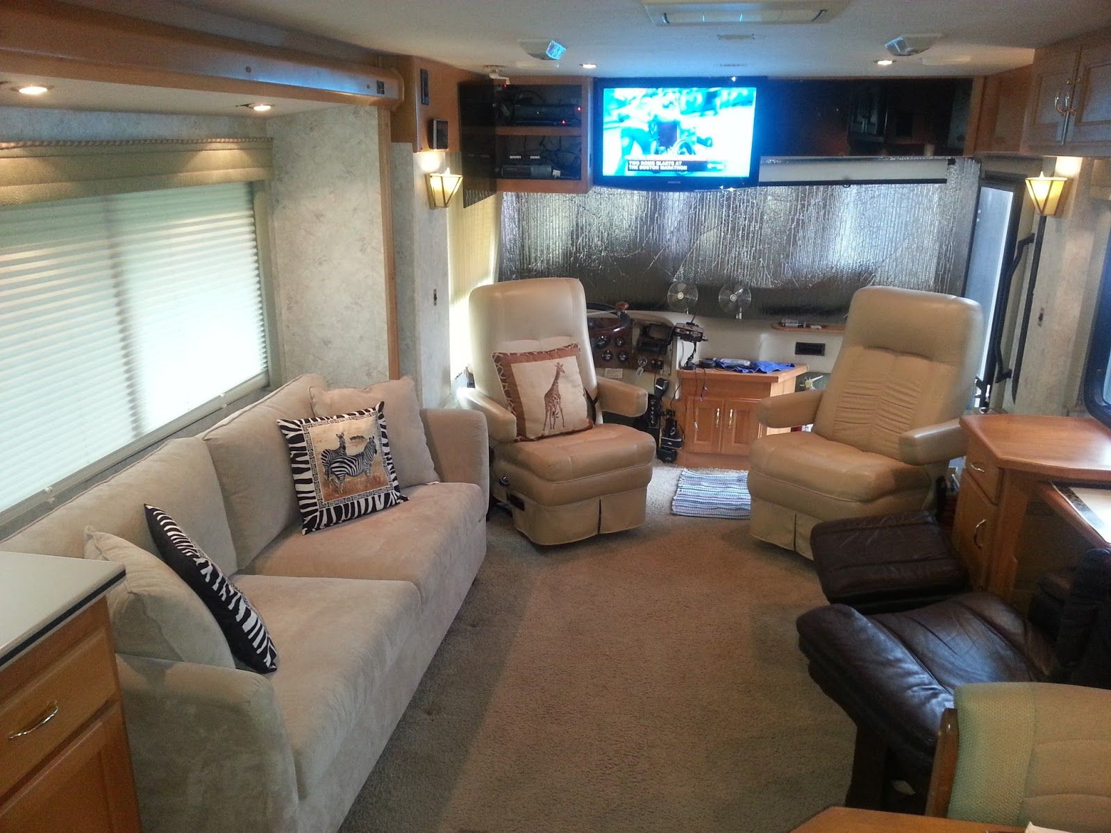 Simplicity Sofas Goes Camping: August 2015 Replacing Your RV Sofa U0026  Recliners