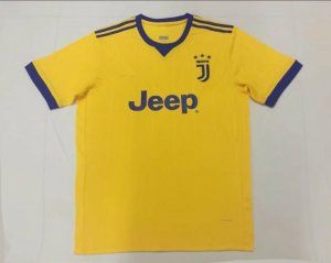 5758ddbcd Juventus 2017-18 Season Away Yellow Juve Jersey  K412