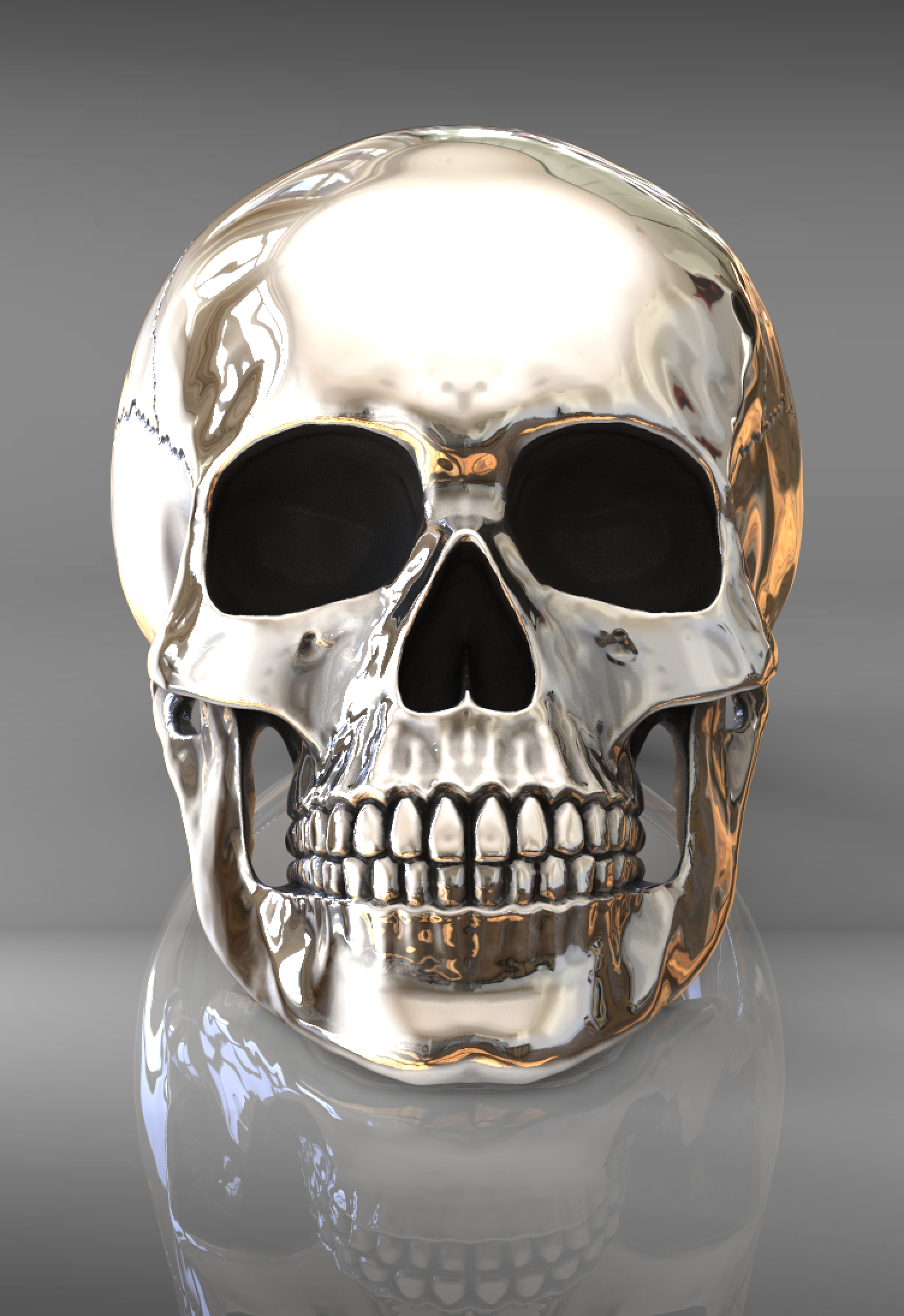Anatomical full skull ring in 2020 Skull, Skull jewelry