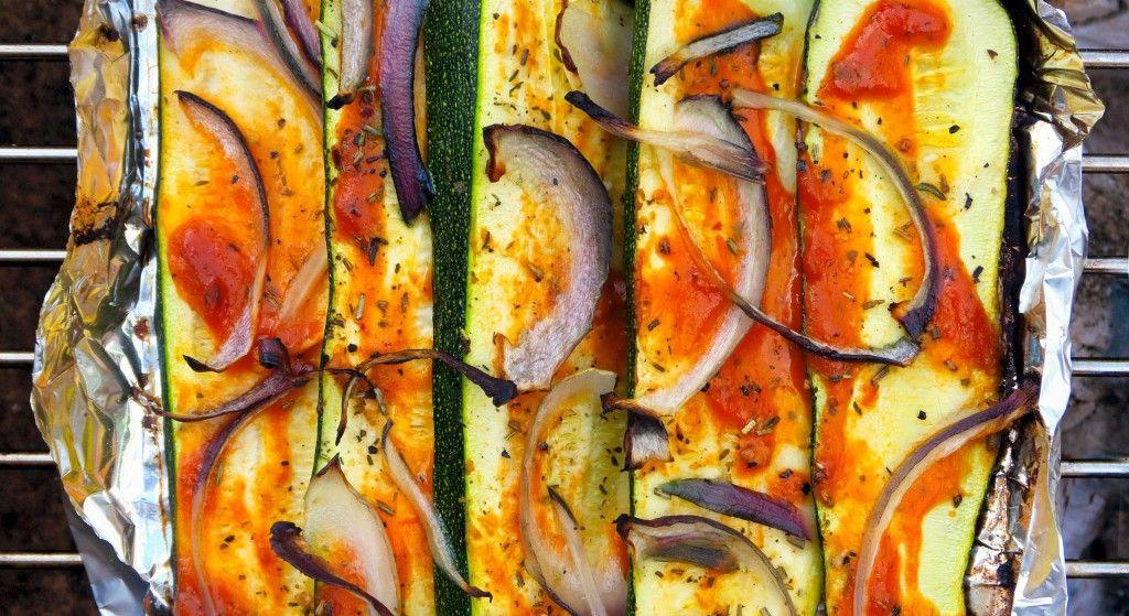 Courgettes grillées à la Provençale (met afbeeldingen)