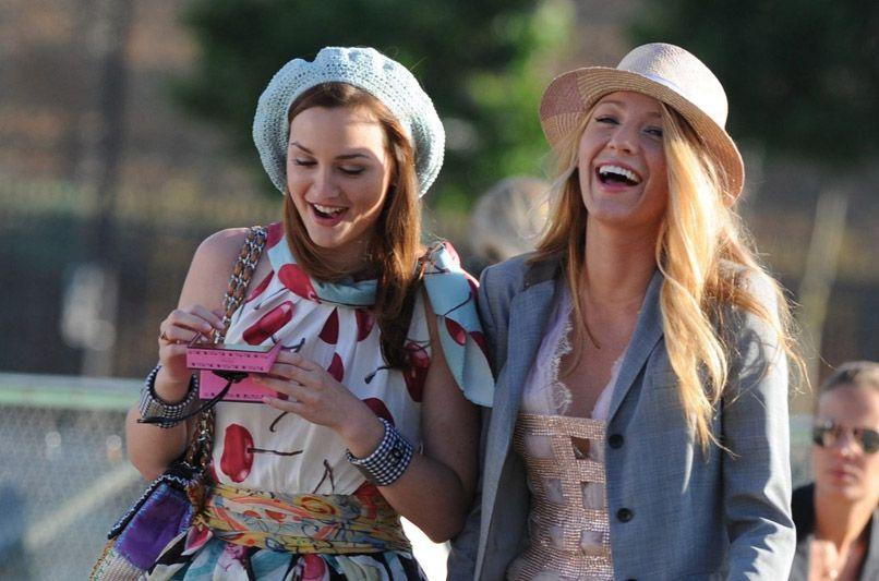 serena's top is everything. #gossipgirl