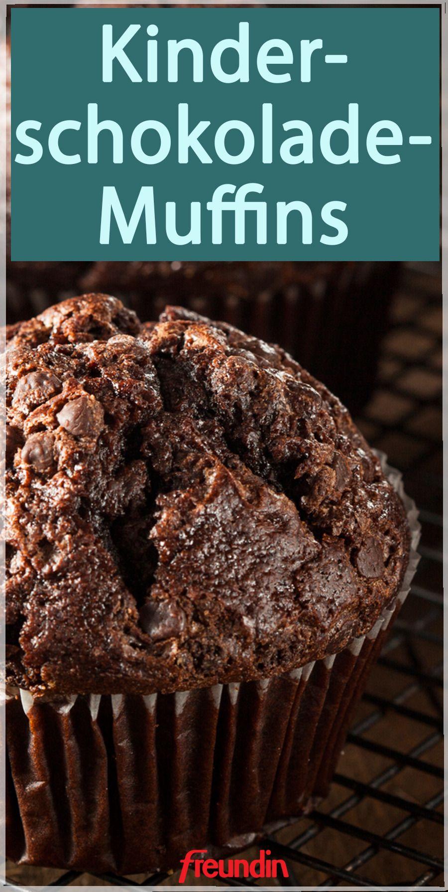 Kinderschokolade-Muffins | freundin.de