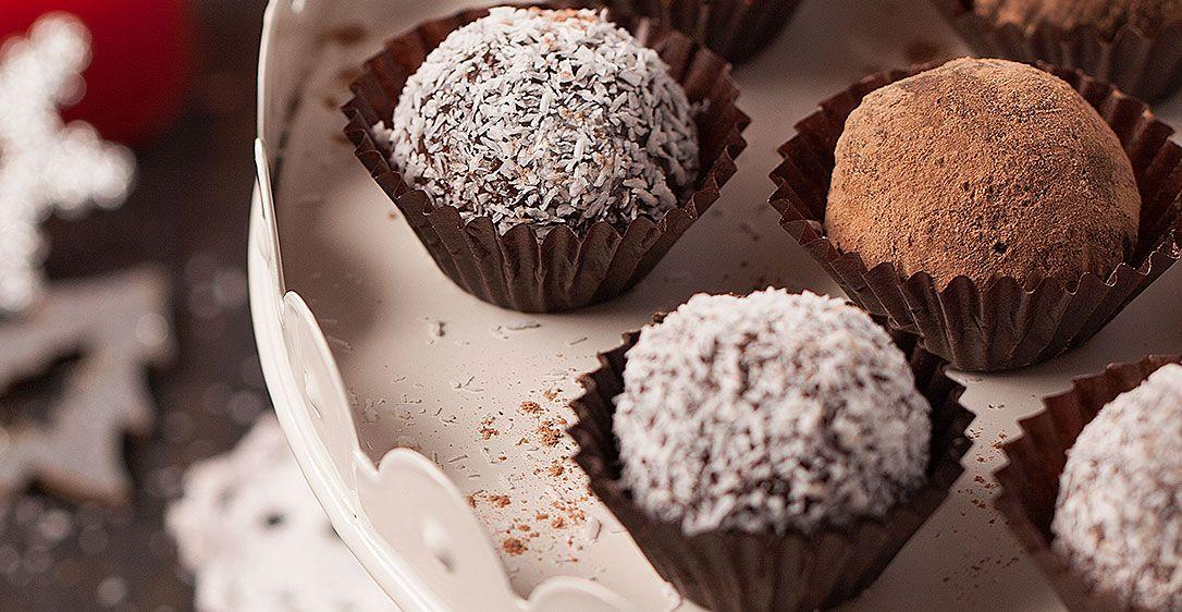 Brigadeiros de Chocolate e Coco | Receitas do Chef em Família