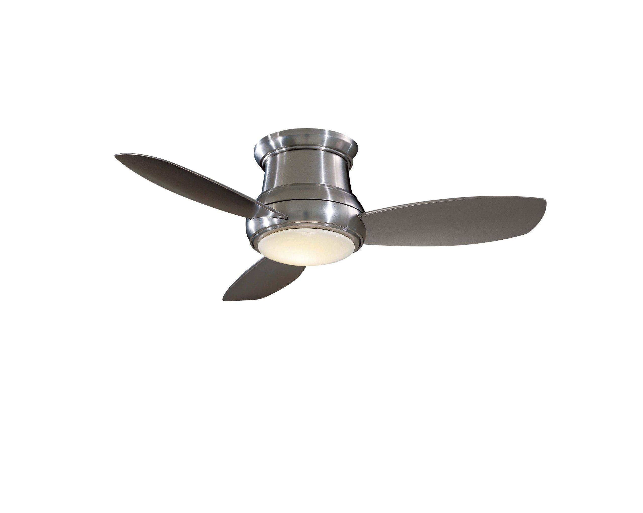 Minka Aire F518 BN 44 inch Concept II Flush Mount Ceiling Fan