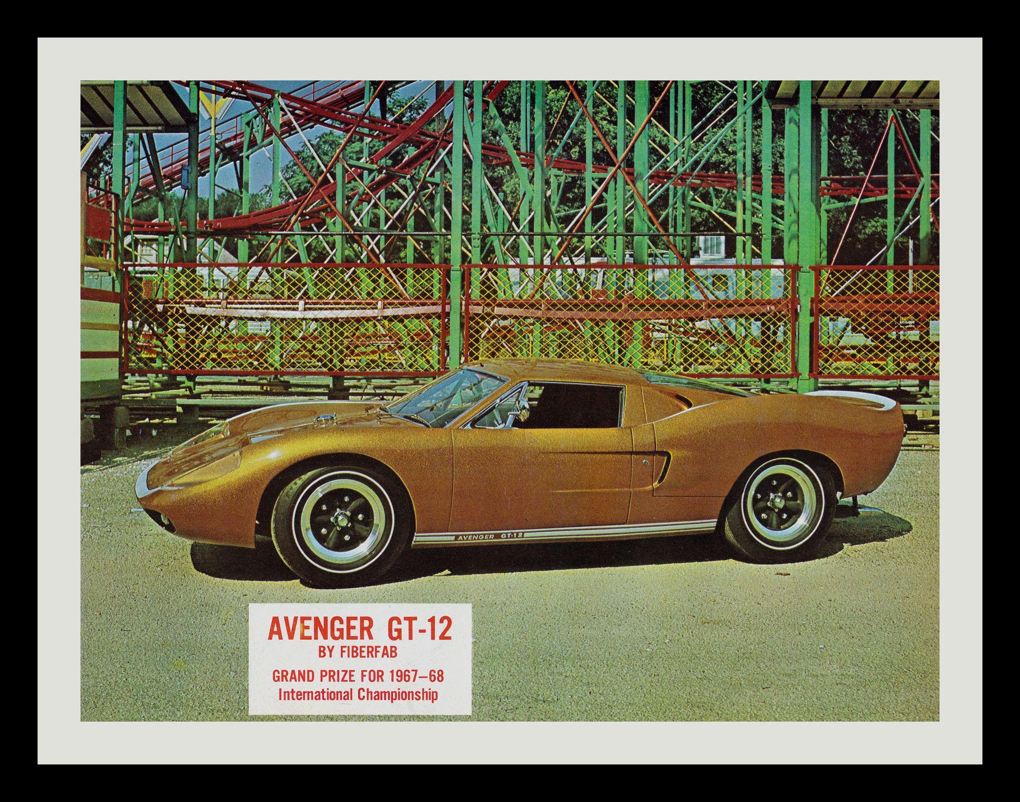 https://flic.kr/p/bAwngd | Avenger GT-12, 1967