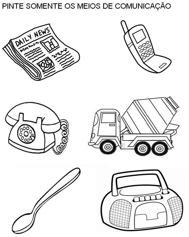 20 Atividades Com Meios De Comunicacao Para Imprimir Atividades
