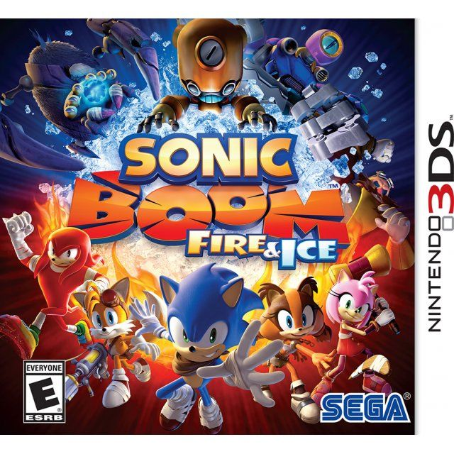 Sonic Boom Fire & Ice Sonic boom, Fire and ice