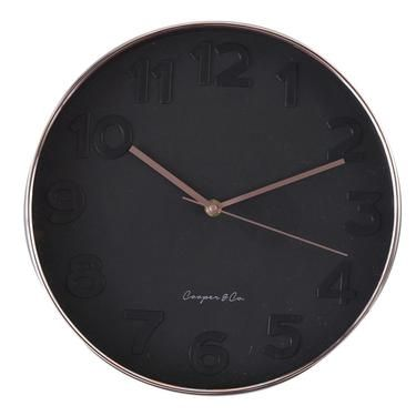 Cooper Co Metro Copper Face Clock Wallclocks Wallart Decor Decor Decorator Homedecor Homeinteriors Wall Clock Modern Wall Clock