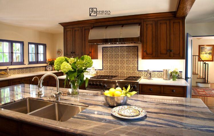 Maraya Interiors Old California Style Kitchen Remodel In 1920 S