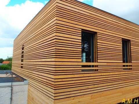 bardage bois clairevoie pinterest architecture facades and exterior. Black Bedroom Furniture Sets. Home Design Ideas