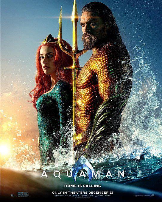 Official Final Posters Aquaman Meraandarthur Filme Aquaman