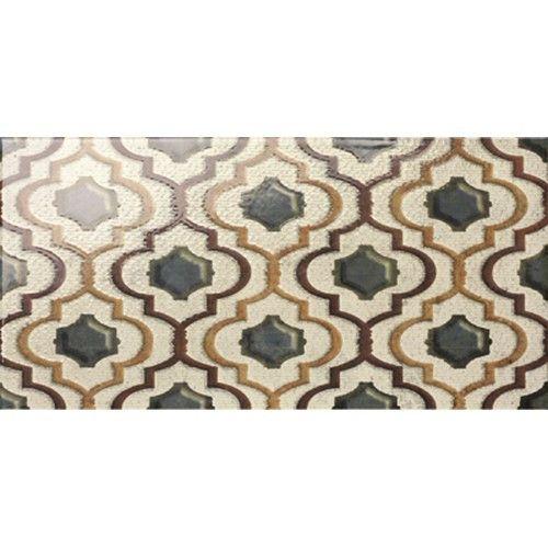 Mainzu #Catania Decoro Marrakech glänzend 15x15 cm #Keramik - boden für badezimmer