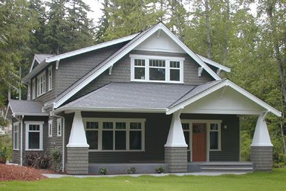 craftsman cottage plans, arts & crafts house plans, & narrow lot