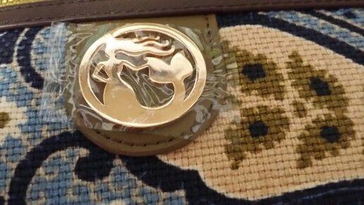 SPARTINA purse medallion