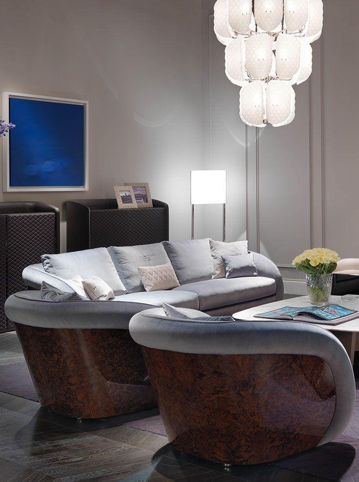 Bentley Home   Beaumont Armchairs And Sofa, Madley Coffee Table  Www.luxurylivinggroup.com #Bentley #LuxuryLivingGroup
