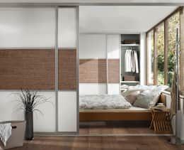 10 Ideen Wie Du Deinen Schlafbereich Abtrennen Kannst Wohn Schlafzimmer Ankleide Zimmer Und Einbauschrank Schlafzimmer