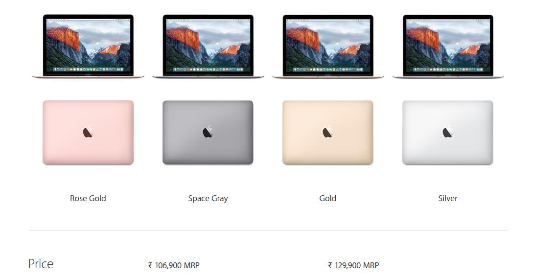 Buy Apple Macbook 12 2016 in India Online on Amazon.in