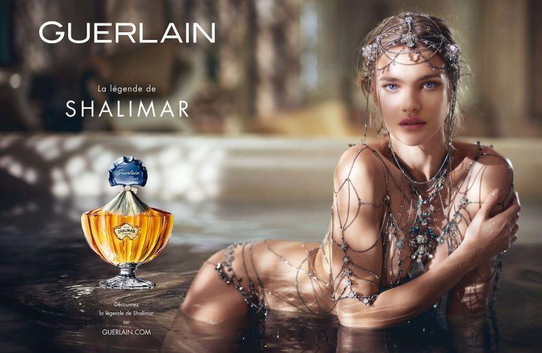 Natalia Vodianova pour Guerlain / La légende de Shalimar